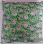 LARGE SHEEP THEMED CUSHION - Animals